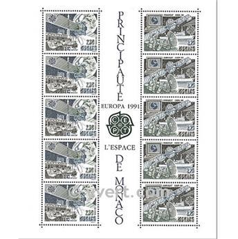 n° 52 -  Timbre Monaco Bloc et feuillets