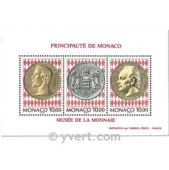 n.o 66 -  Sello Mónaco Bloque y hojitas