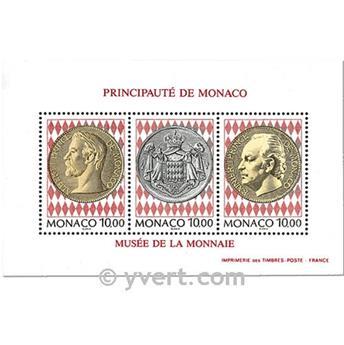 nr. 66 -  Stamp Monaco Souvenir sheets