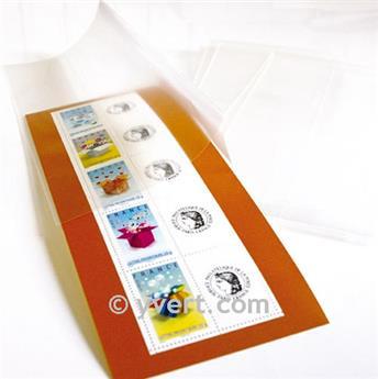 protetores dupla soldura -  LxA: 102 x 77 mm (Fundo transparente)