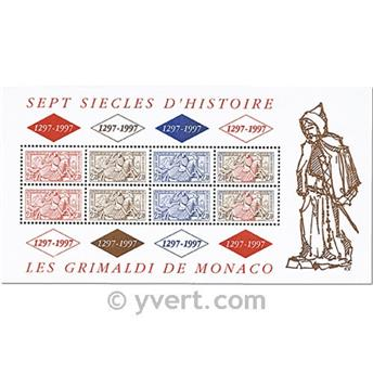 nr. 75 -  Stamp Monaco Souvenir sheets