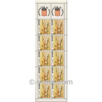 n° 3 -  Timbre Monaco Carnets