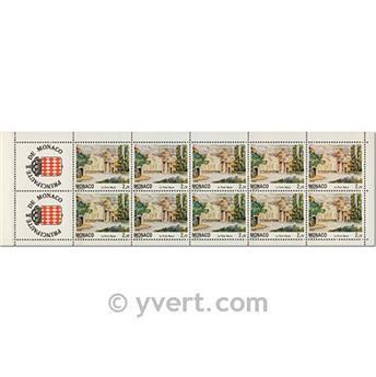 nr. 7 -  Stamp Monaco Booklet Panes