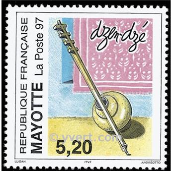 n° 44 -  Selo Maiote Correios
