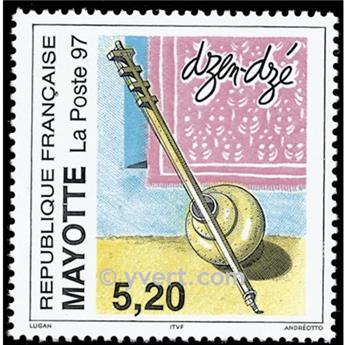 n° 44 -  Timbre Mayotte Poste