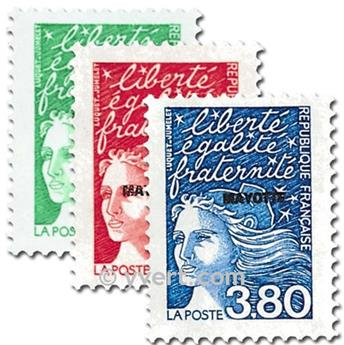 n° 48/50 -  Timbre Mayotte Poste