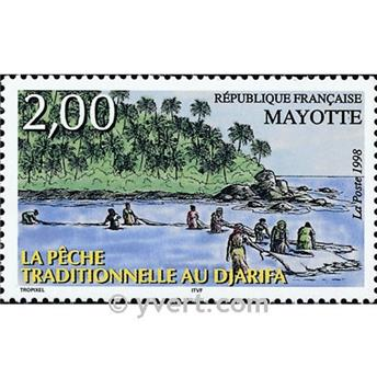 n.o 59 -  Sello Mayotte Correos