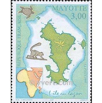 nr. 69 -  Stamp Mayotte Mail