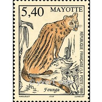 n° 76 -  Timbre Mayotte Poste