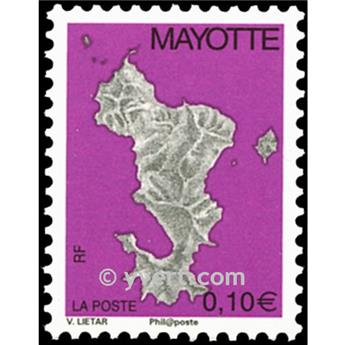 n.o 159a -  Sello Mayotte Correos