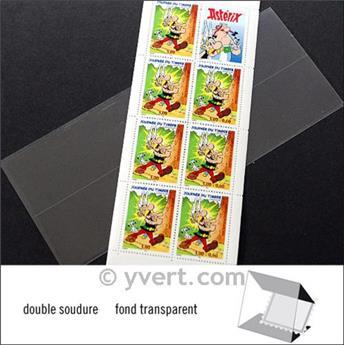 Pochettes double soudure - Lxh:186x72mm (Fond transparent)