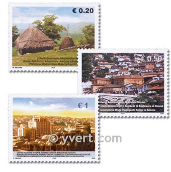 n° 35/37 -  Selo Kosovo - ONU Correios
