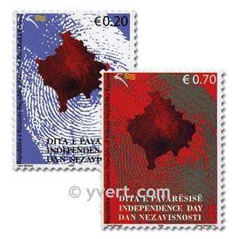 n° 3/4 -  Timbre Kosovo Poste