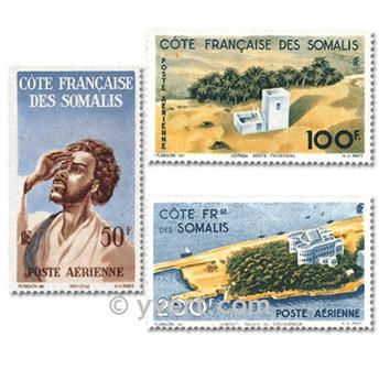 nr. 20/22 -  Stamp French Somaliland Air Mail