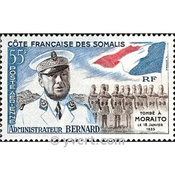 n.o 27 -  Sello Somalia francesa Correo aéreo