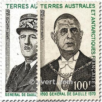 n.o 46 / 47 -  Sello Tierras Australes y Antárticas Francesas Correos