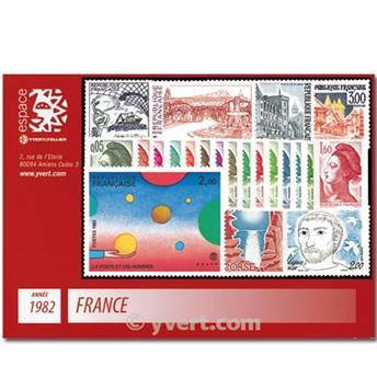 n° 2178/2251  - Timbre France Année complète  (1982)