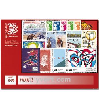 n° 2986/3041  - Timbre France Année complète  (1996)