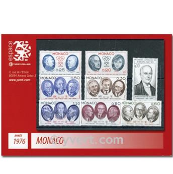 nr. 1043/1078 -  Stamp Monaco Year set (1976)