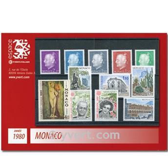 nr. 1209/1263 -  Stamp Monaco Year set (1980)