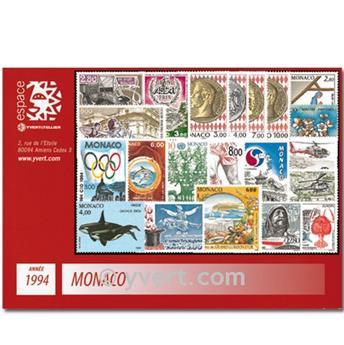 nr. 1915/1970 -  Stamp Monaco Year set (1994)