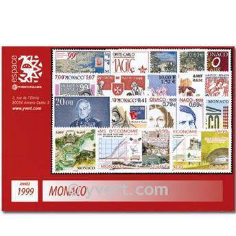 nr. 2186/2229 -  Stamp Monaco Year set (1999)