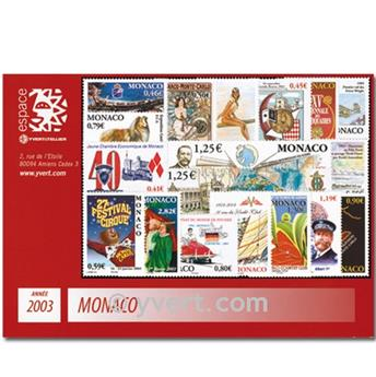 nr. 2382/2417 -  Stamp Monaco Year set (2003)