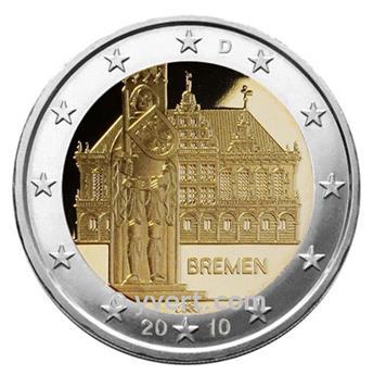2 EURO COMMEMORATIVE 2010 : ALLEMAGNE (D)
