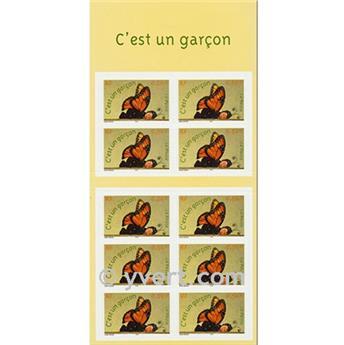 n° BC41 -  Selo França Autoadesivos