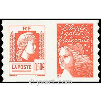 n° P43 -  Timbre France Autoadhésifs