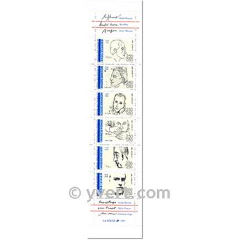 n° BC2687 -  Selo França Carnet Personalidades