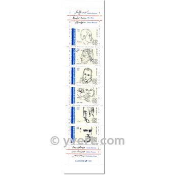n° BC2687 -  Timbre France Carnet Personnages célèbres
