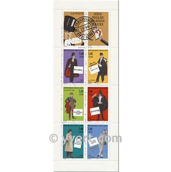 n° BC3031 -  Timbre France Carnet Personnages célèbres