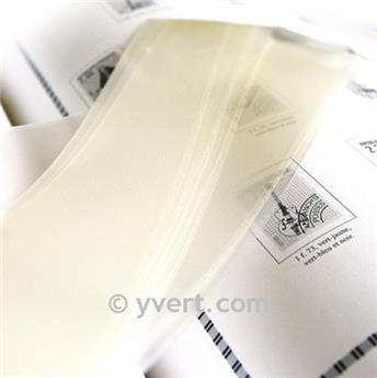 Tiras soldura simples -  27 mm (Fundo transparente)
