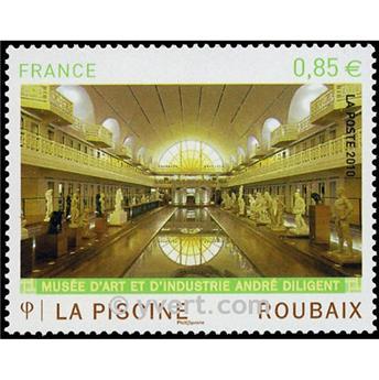 n.o 4453 -  Sello Francia Correos