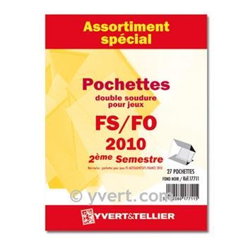 Assortiment de pochettes (double soudure) : 2010-2nd semestre
