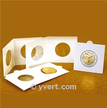 COIN HOLDERS: 17.5 mm - SELF SEALING