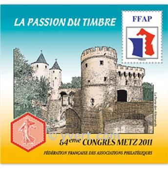 nr. 5 -  Stamp France FFAP Stamp