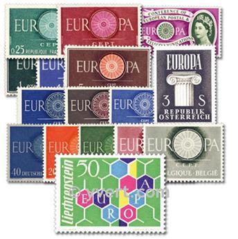 1960** - Année complète neuf EUROPA