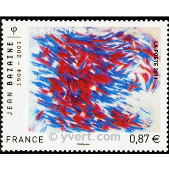 n° 4537 -  Selo França Correios