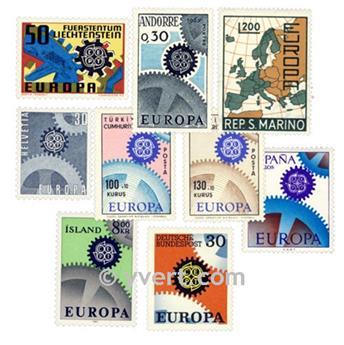 1967** - Année complète neuf EUROPA