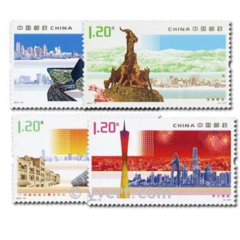 n° 4737/4740 -  Selo China Correios