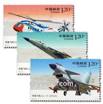 nr. 4805/4807 -  Stamp China Mail