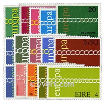 1971** - Année complète neuf EUROPA