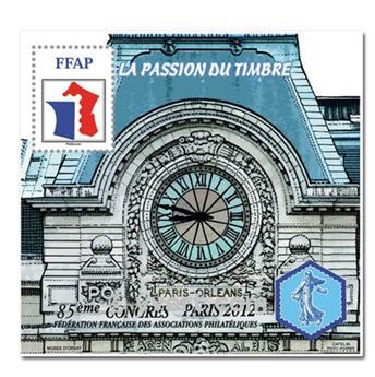 n.o 6 - Sello Francia Federación Francesa de Asociaciones Filatélicas (FFAP)