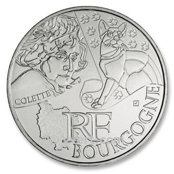 10€ DES REGIONS - Bourgogne - 2012