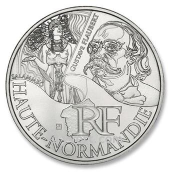 10€ DES REGIONS - Haute Normandie - 2012