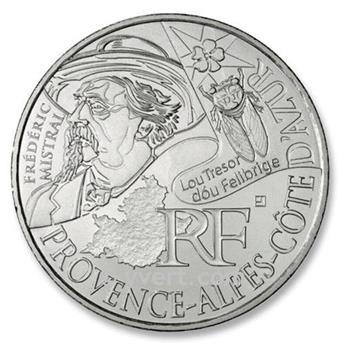 10 € DAS REGIÕES - Provence Alpes Côte d´Azur - 2012