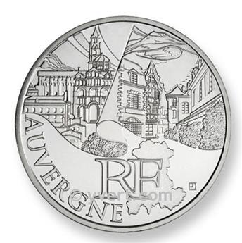 €10 DES REGIONS 2011 - Auvergne