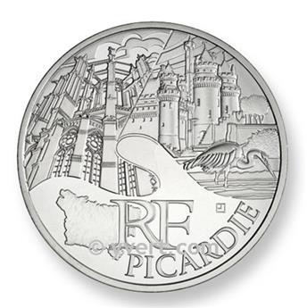 10€ DES REGIONS - Picardie 2011
